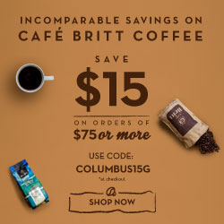 Save $15 on orders of $75 or more Use code: COLUMBUS15G *at checkout