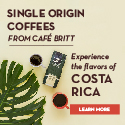 Single Origin Coffee from Cafe Britt