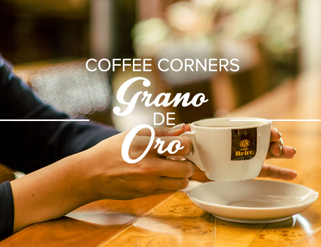 Coffee Corners: Grano de Oro