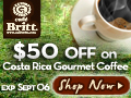 $50 OFF on Gourmet Coffee for Labor Day 120x90