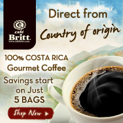 100% Costa Rica Gourmet Coffee