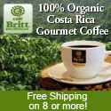 Cafe Britt Gourmet Organic coffee