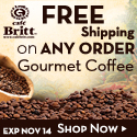 Free Shipping on ANY order at Cafe Britt - Exp Oct 12
