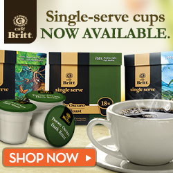 Gourmet Coffee from Costa Rica now in Single Cups