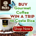 Win a Trip To Costa Rica; Cafe Britt Sweepstakes 2010 - Free trip to Costa Rica