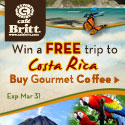 Sweepstakes 2011 - Free Trip to Costa Rica - 125x125