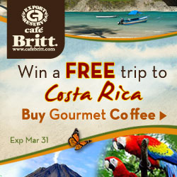 Sweepstakes 2011 - Free Trip to Costa Rica - 250x250