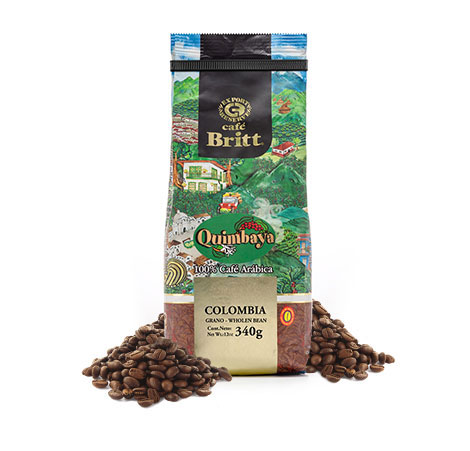 Colombian Quimbaya whole bean coffee