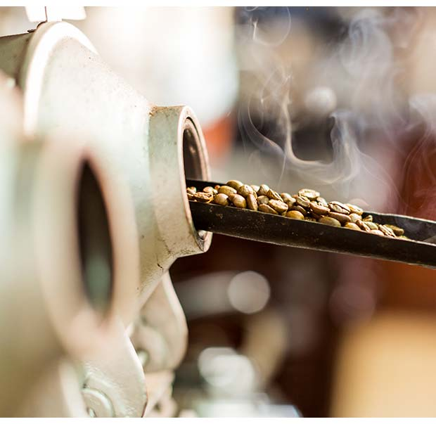 Artisanal roasting method