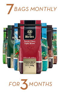 Coffee Brewers Club 7 bags monthly for 3 months