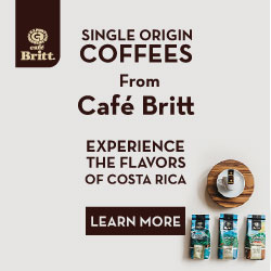 Single Origin Coffees From Cafe Britt!