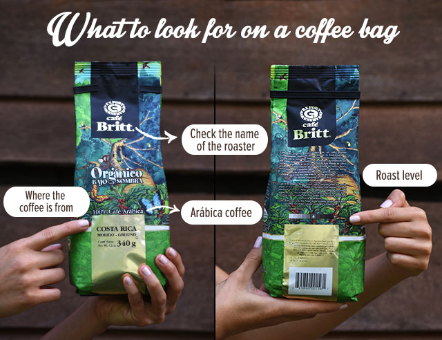 What to look for on a coffee bag