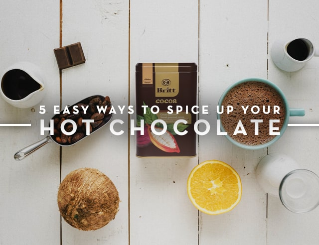 5 Ways to Spice Up Hot Chocolate