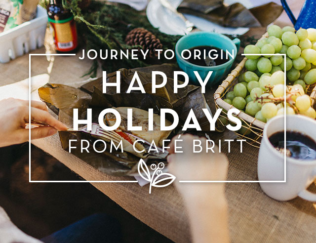 Happy Holidays from Cafe Britt