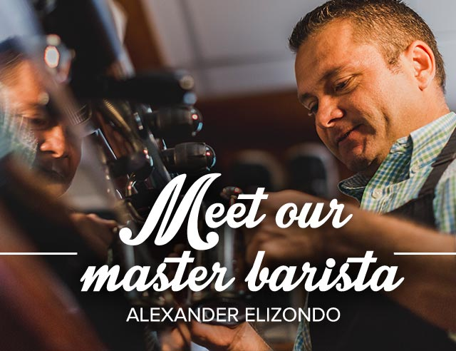 Meet our master barista