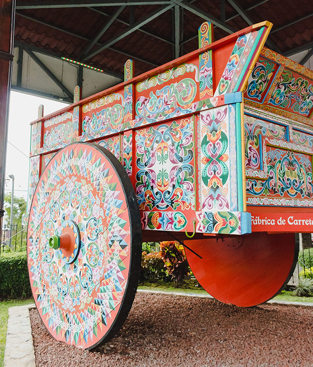 Costa Rican oxcart