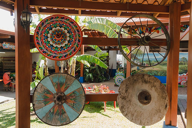 Historical Costa Rican oxcarts
