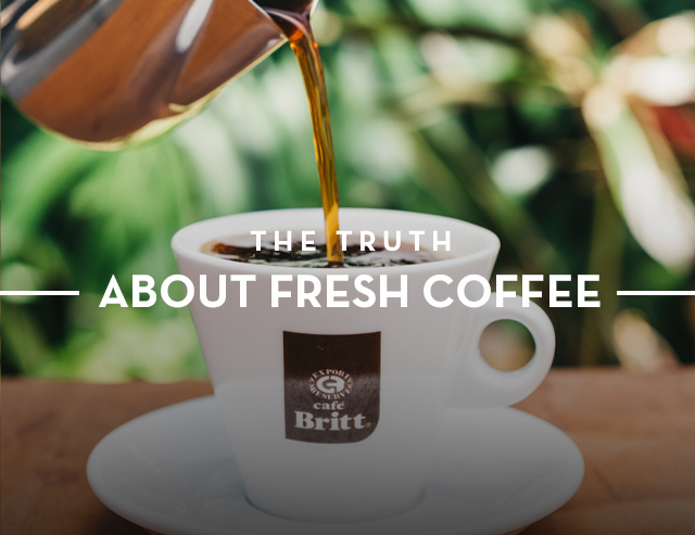 The Truth About Fresh Coffee