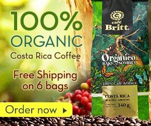 Organic Coffee from Costa Rica