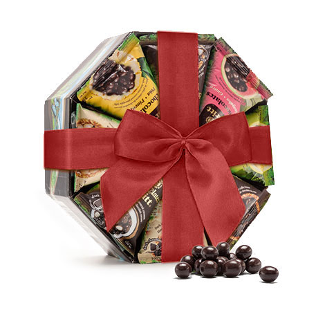 octogonal-chocolate-gift-red