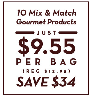 10 mix and match gourmet products