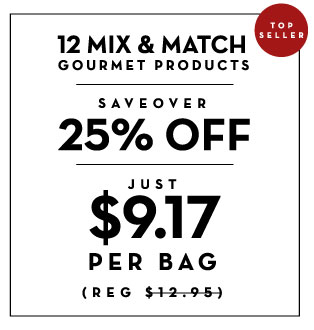 12 mix and match gourmet products