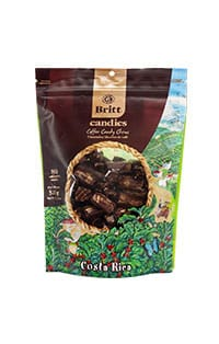 Coffee candy chews