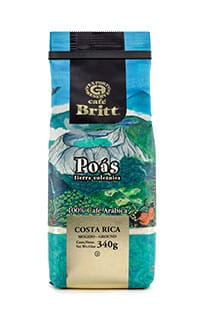 Costa Rican Poas whole bean coffee