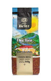 Costa Rican tres rios ground coffee