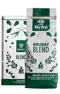Holiday Blend Gift Gourmet Coffee