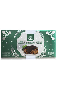 Holiday Chocolate Mint Cookies