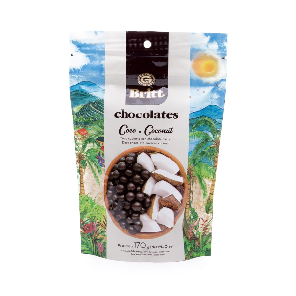Dark Chocolate Covered Coconut