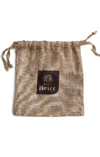 Cafe Britt Small Burlap Bag